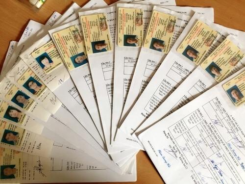 hồ sơ học lái xe ô tô TPHCM