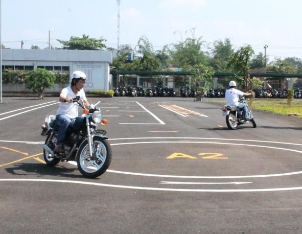 Trung Tâm Bằng Lái Xe Mô Tô A2 Đà Nẵng